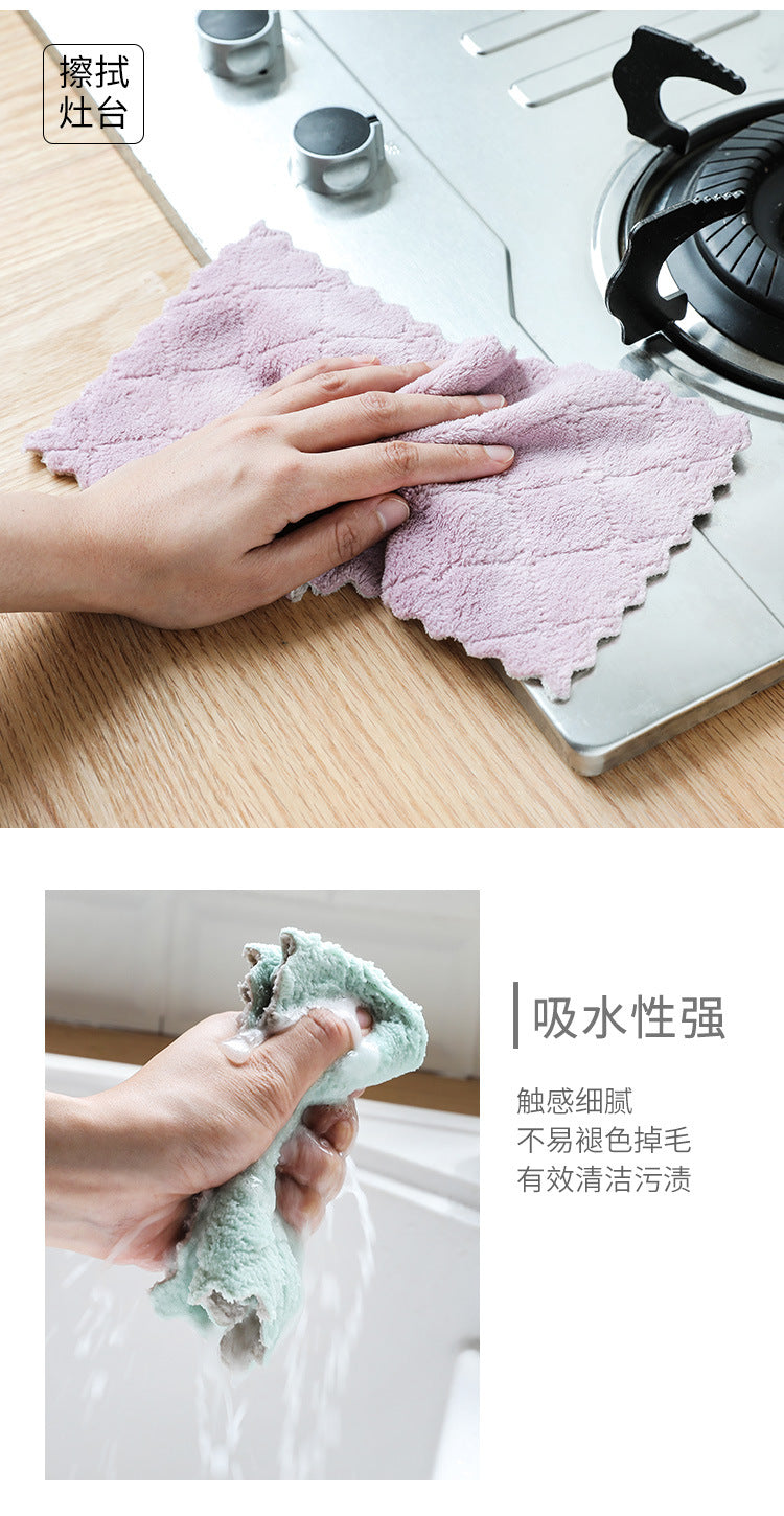 Super Absorbent Kitchen Cleaning Cloth - shopaholicsonlyco
