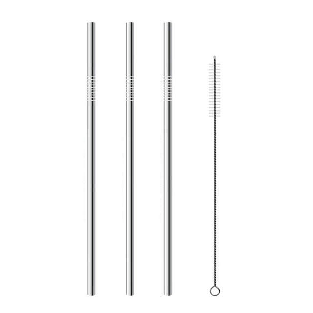 4Pcs Reusable Drinking Straw - shopaholicsonlyco