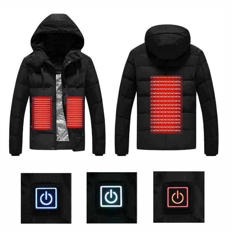 Heated Hooded Jacket - shopaholicsonlyco
