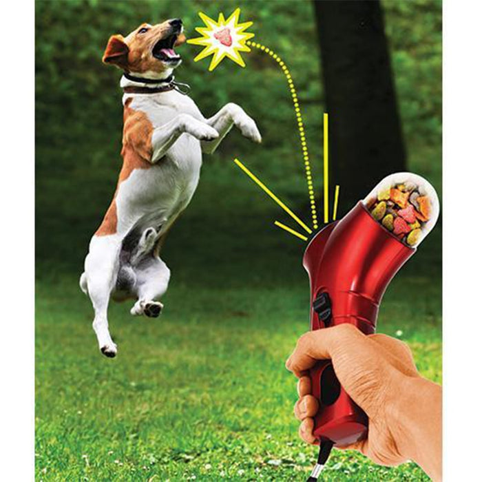Handheld Dog Food Launcher - shopaholicsonlyco