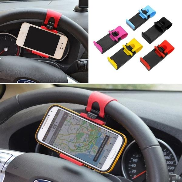 Steering Wheel Phone Clip - shopaholicsonlyco