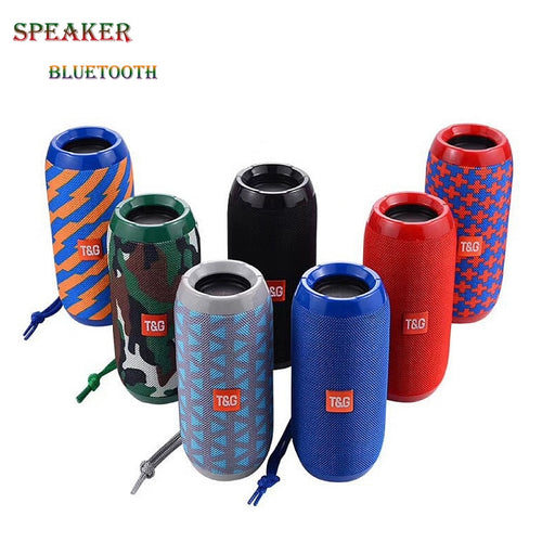 Portable Waterproof Bluetooth Speaker - shopaholicsonlyco