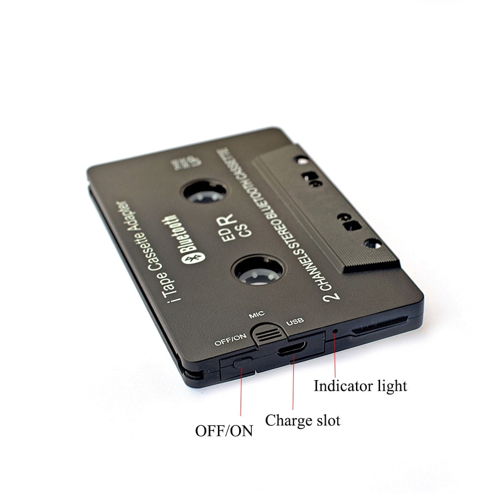Bluetooth Cassette Adapter - shopaholicsonlyco
