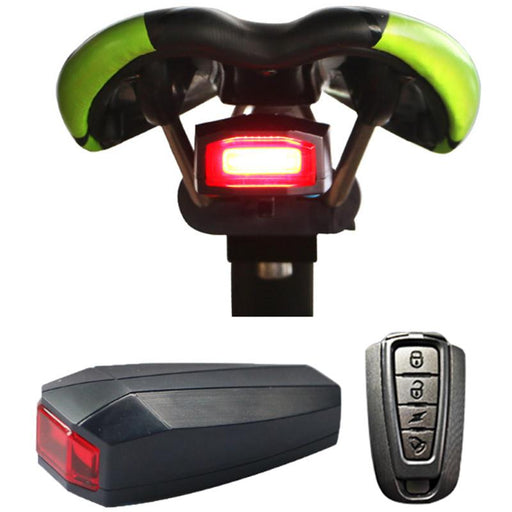 Bicycle Tail Rear Light Wireless Remote Control - shopaholicsonlyco