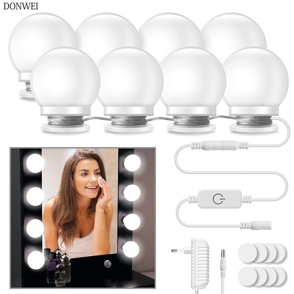 10Pcs Makeup Mirror Light Bulbs