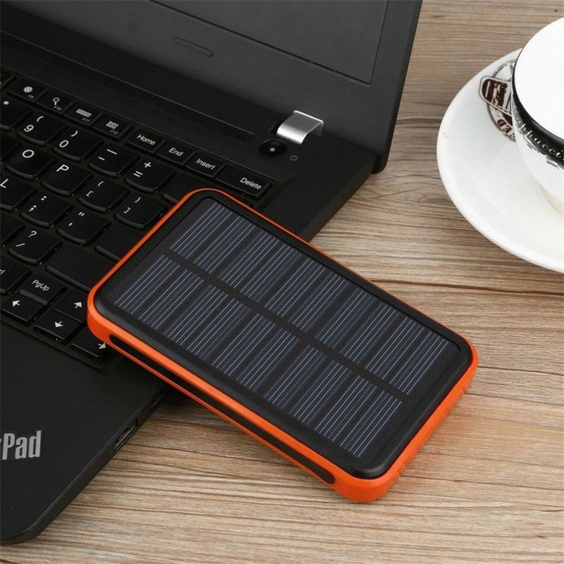 Portable Solar Power Bank 30000mah