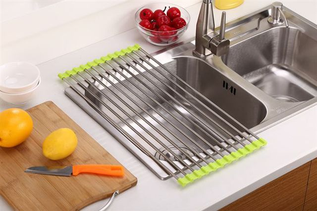 Multifunctional Sink Drainer Storage - shopaholicsonlyco