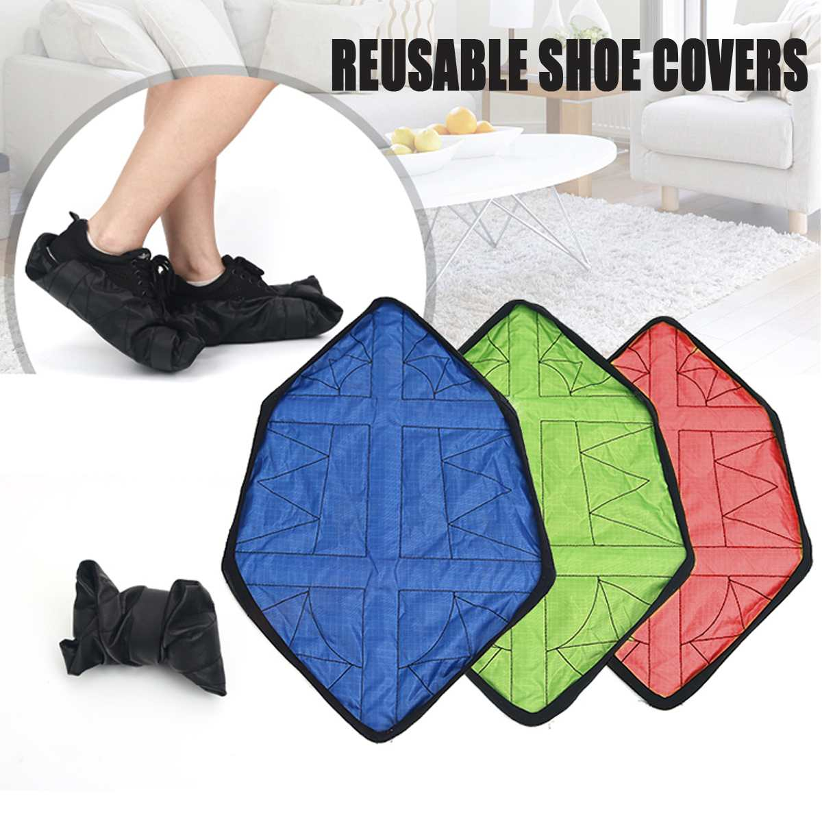 Reusable Shoe Covers - shopaholicsonlyco