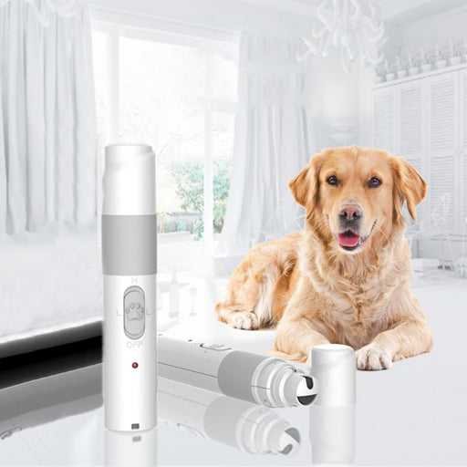 Rechargeable Electric Pet Nail Grooming Trimmer - shopaholicsonlyco