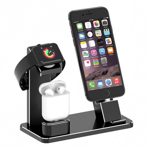 Charging Dock for iPhone, iWatch and Airpods - shopaholicsonlyco
