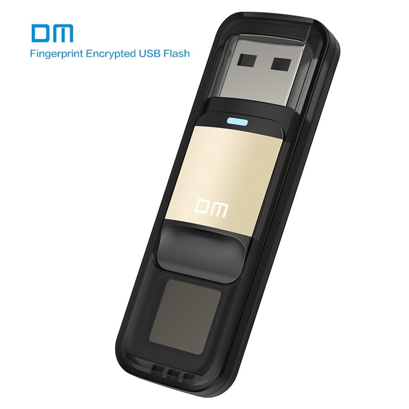 Flash Drive with Fingerprint Encryption