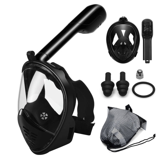 Full Face Snorkel Mask - shopaholicsonlyco