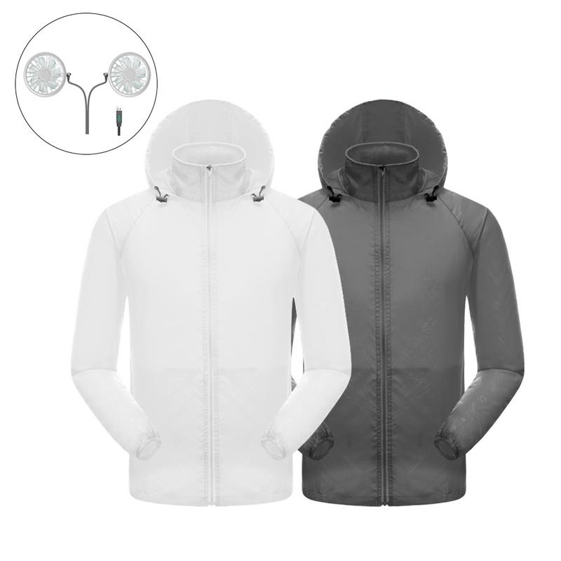 Waterproof Air conditioned jacket - shopaholicsonlyco