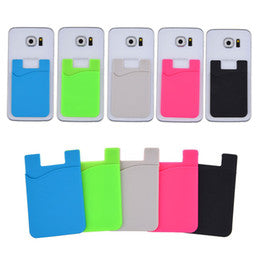 Silicone Cellphone Wallet Case - shopaholicsonlyco