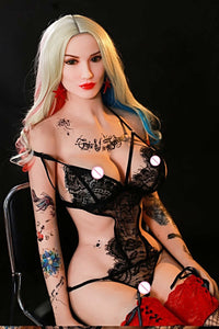 """Alexa "" Real Sex Doll 168cm Tattooed"