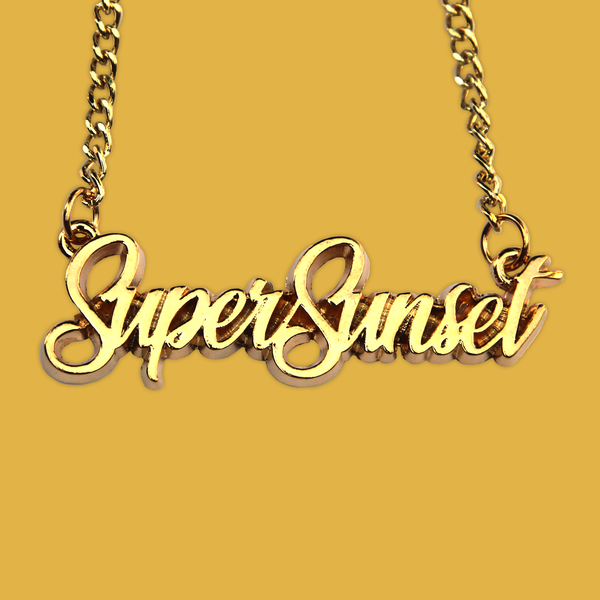 SUPER SUNSET NECKLACE