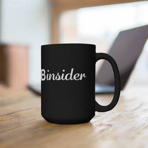 Soap Hub Insider Black Mug 15oz