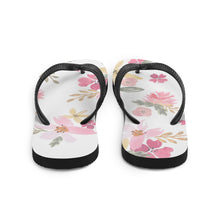 Load image into Gallery viewer, Soap Hub Floral Flip-Flops