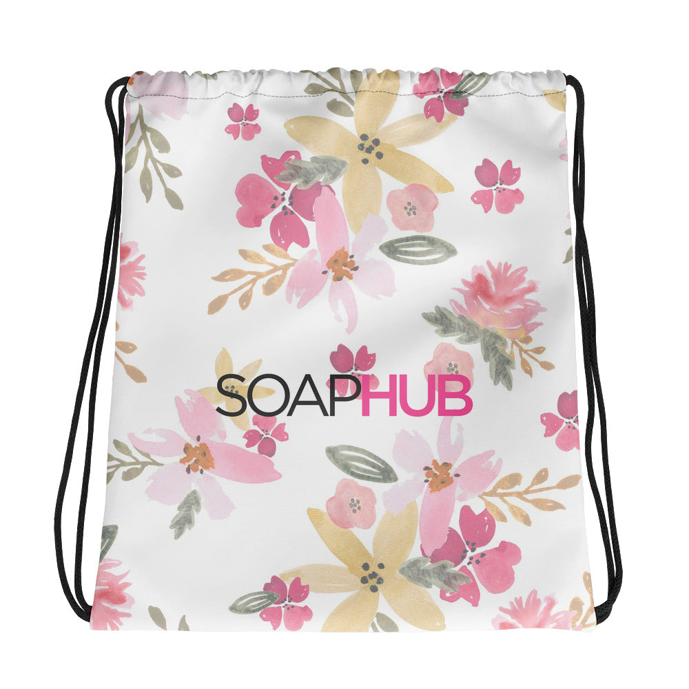 Soap Hub Drawstring bag