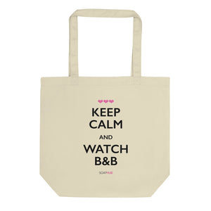 """Keep Calm & Watch B&B"" Eco Tote Bag"