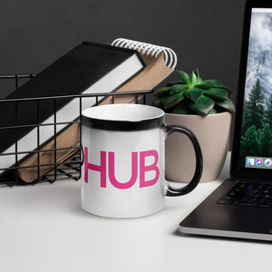Glossy Magic Soap Hub Logo Mug