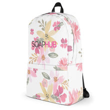 Load image into Gallery viewer, SoapHub Floral Backpack