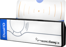 Load image into Gallery viewer, Nedap UHF Dual!D Card Holders (QTY. 10)