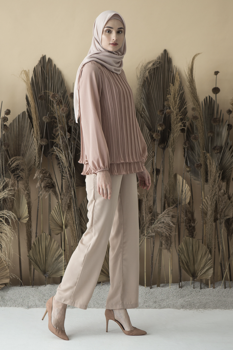Light Mauve Mayang Top