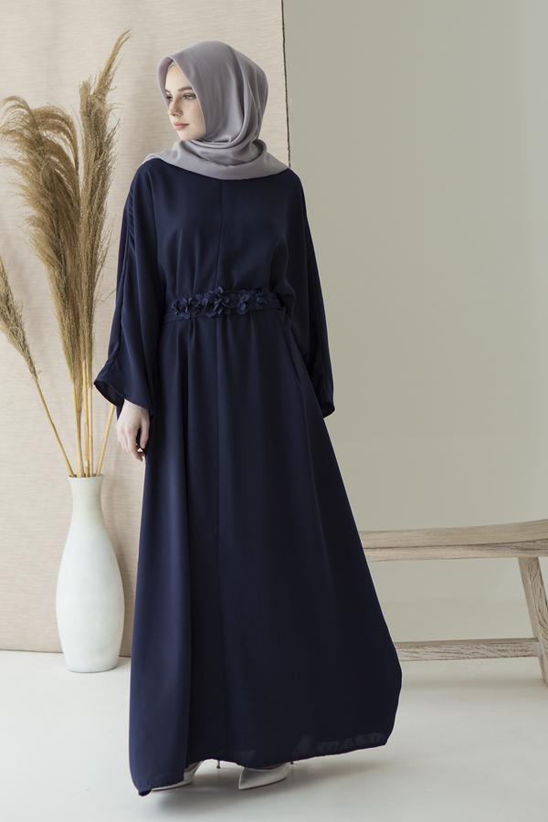 [PO 19 APR] Navy Kamila Dress