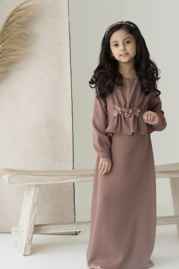 [PO 01 AUG] Redbud Kamila Dress Kids