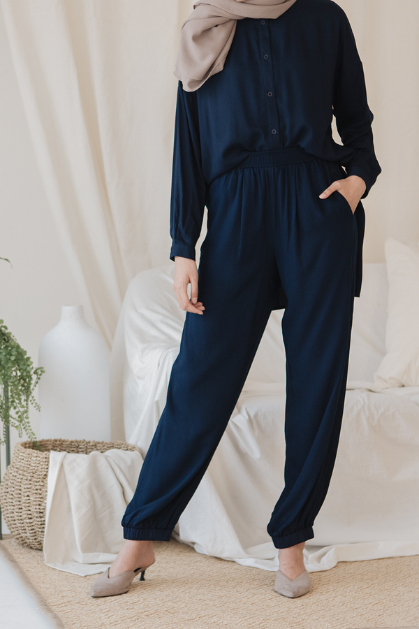 BUNDLE Navy Magani Top + Navy Magani Pants