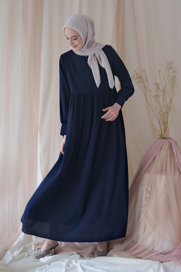 Basic Dress Navy