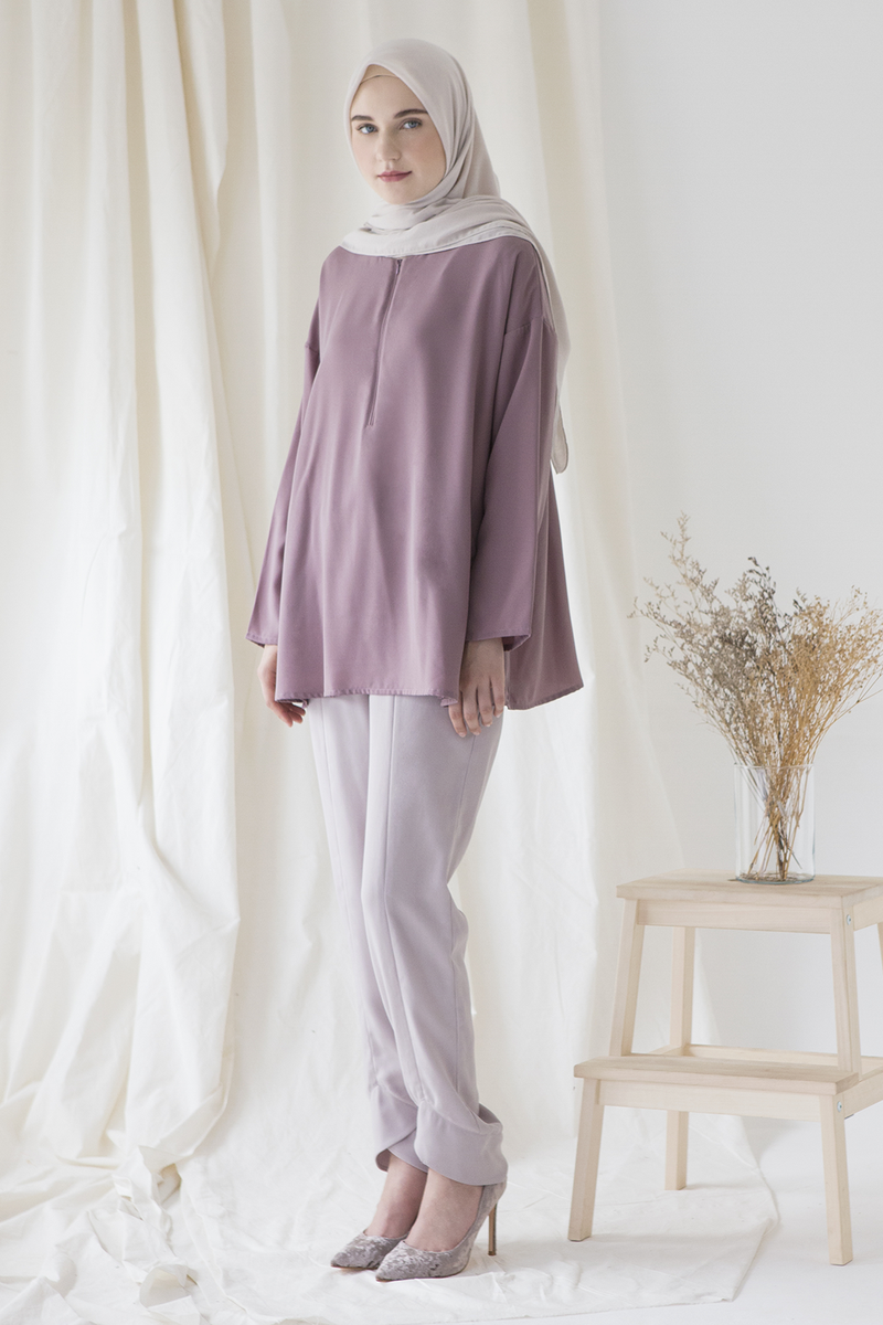 Lilac Basic Top