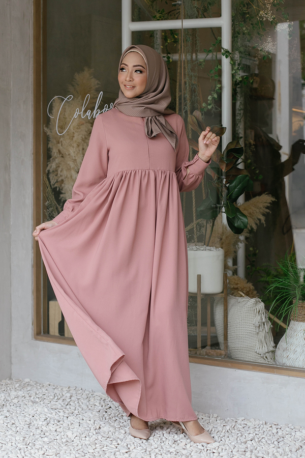 Basic Dress Mauve