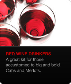 Red Wine Drinkers Sake Kit