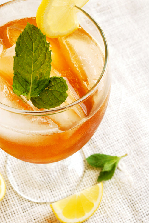 Sake Sweet Tea Cocktail