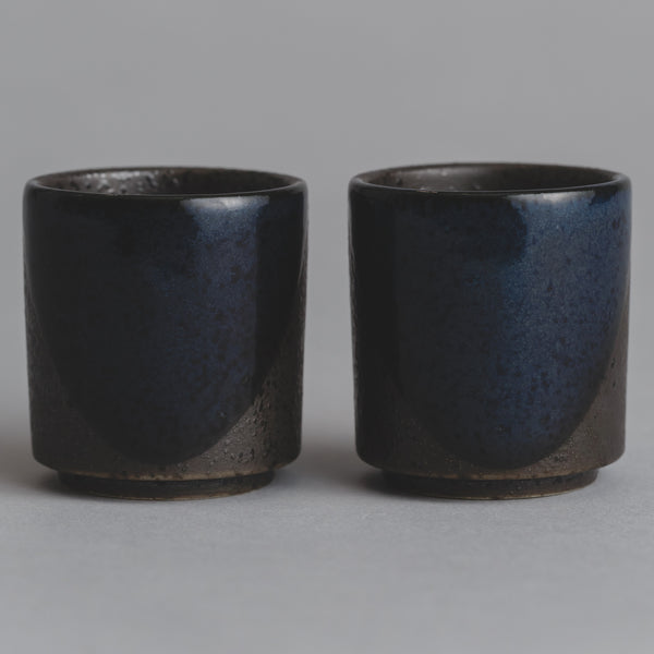 Blue Ceramic Sake Set