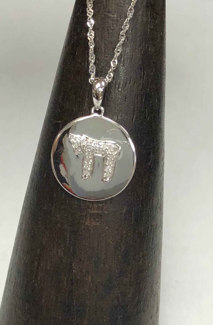 Diamond Chai Pendant
