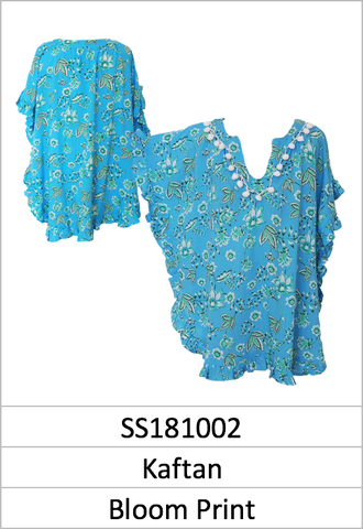 Kaftan Bloom Print