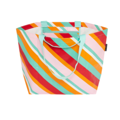 Medium Everyday Tote Candy Stripes