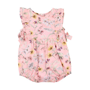 Liberty Side Bow Romper
