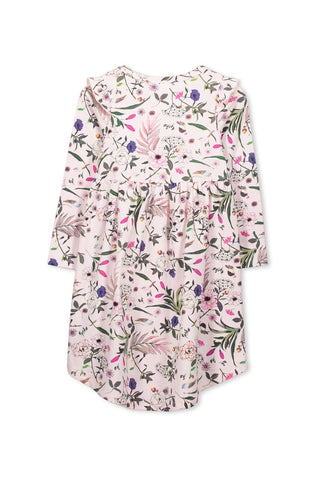 Pretty Floral Dress - Blossom Pink
