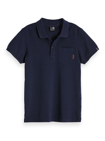 Regular Fit Garment Dyed Short Sleeve Polo