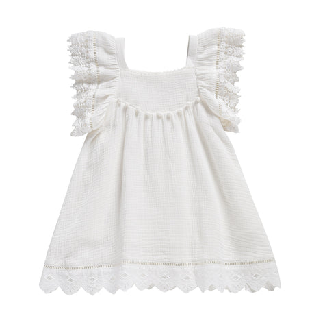 Dress Grenadine - White