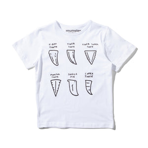 S/S T Shirt Tooth Fairy White