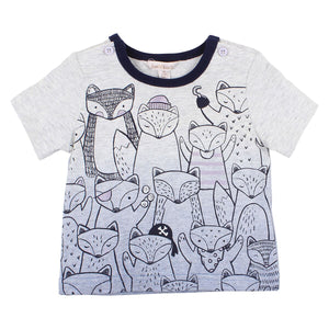 Seven Seas Foxes Tee Baby