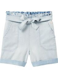 Drapey Tencel Shorts