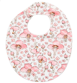 May Gibbs Brooklyn Bib - Boronia Baby