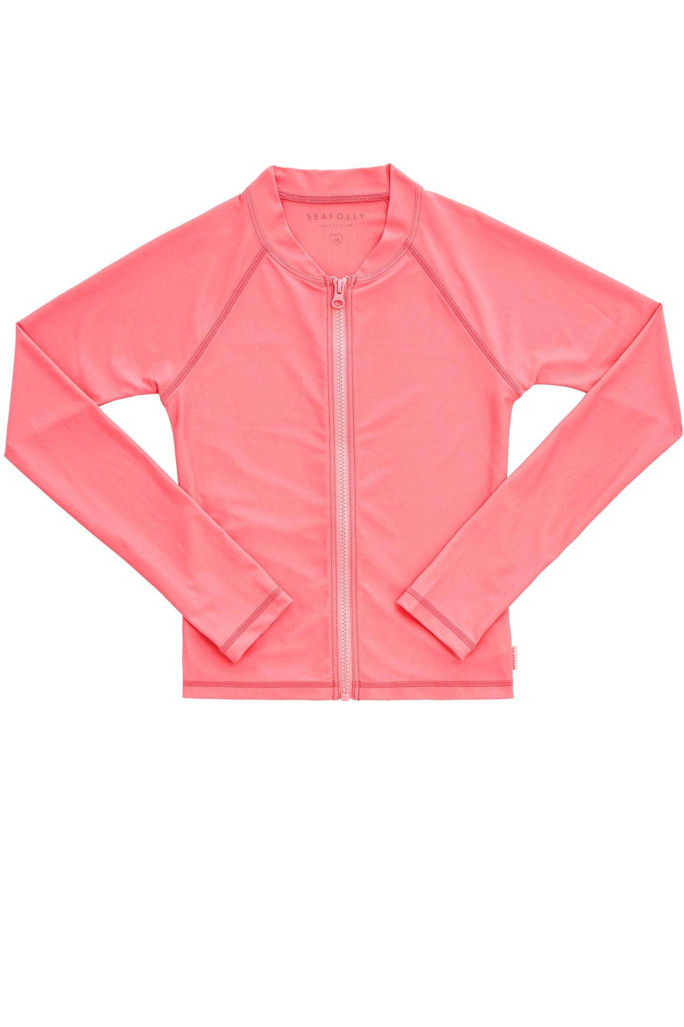 Seafolly Sweet Summer L/S Zip Rashie