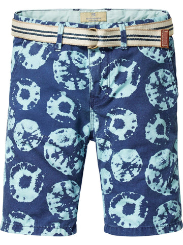 All Over Printed Canvas Short